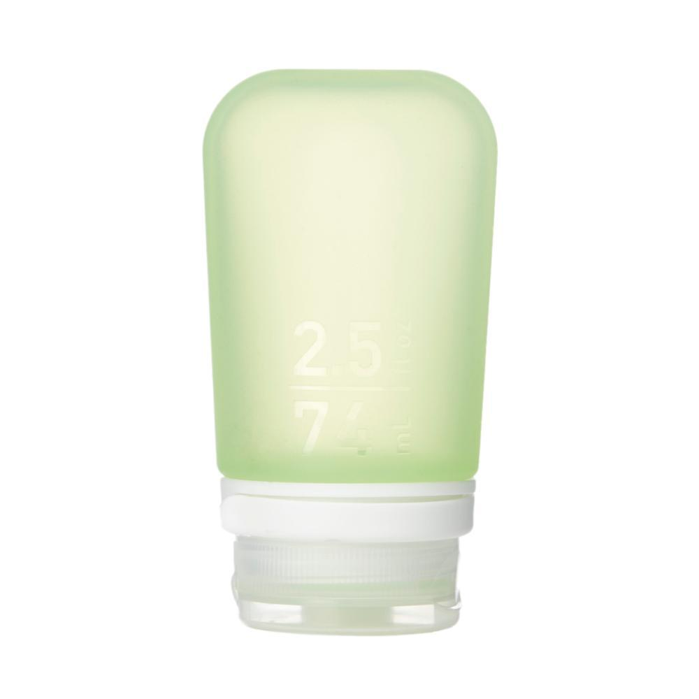 Humangear GoToob+ 2.5oz Silicone Bottle GREEN