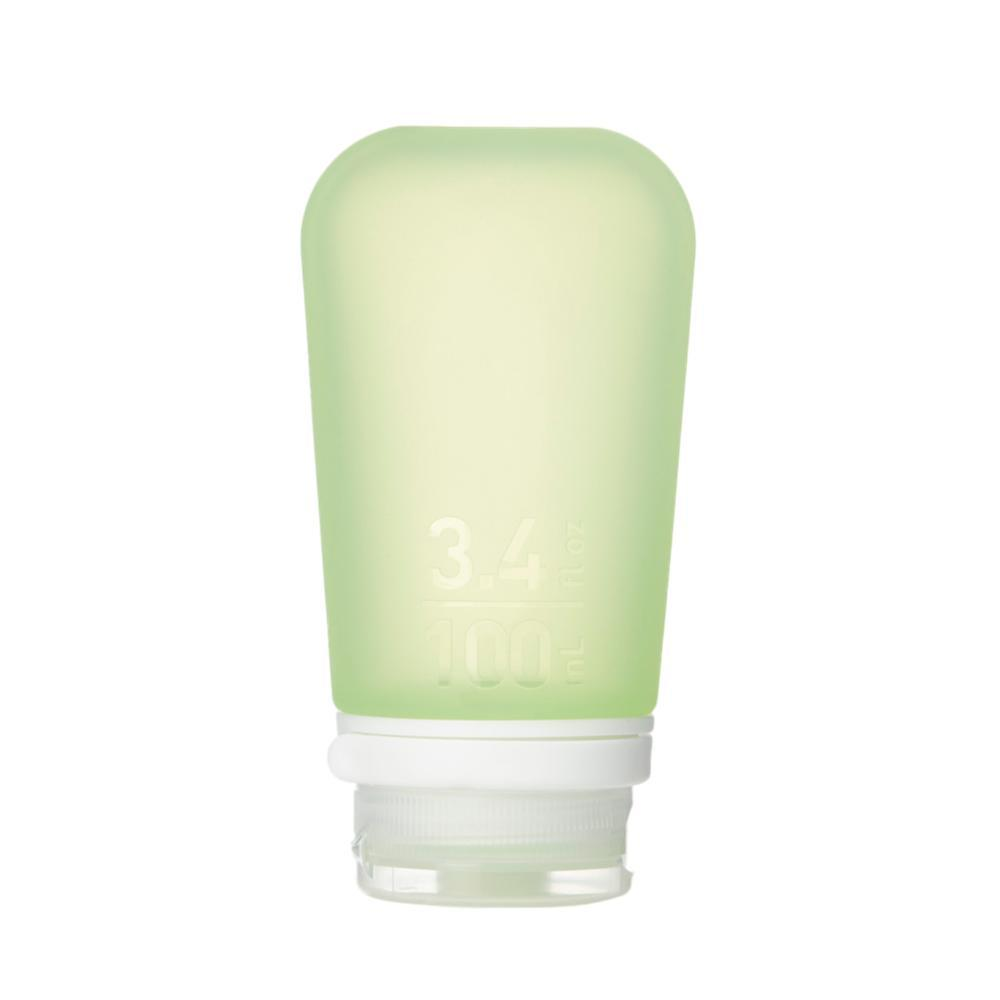 Humangear GoToob+ 3.4oz Silicone Bottle GREEN