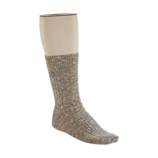 Birkenstock Men's Cotton Slub Socks GRAY/WHITE