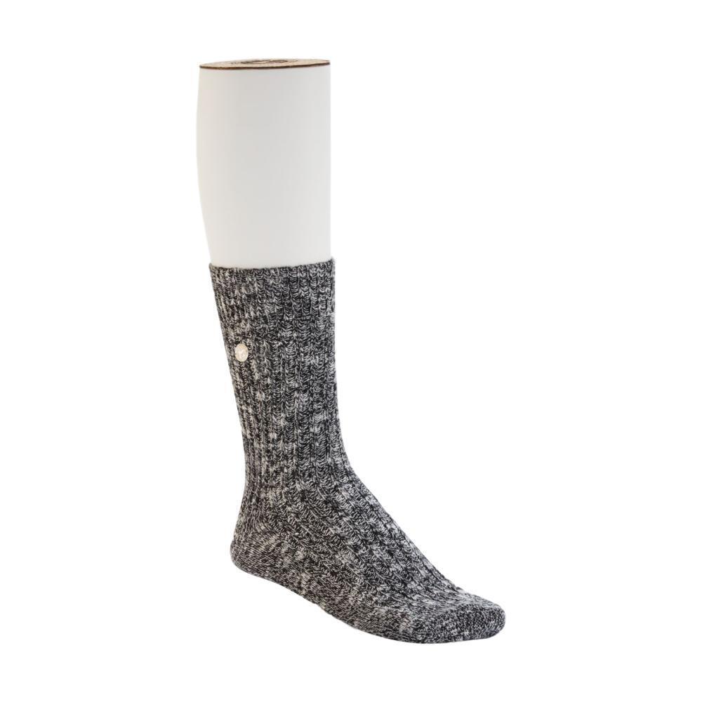 Birkenstock Women's Cotton Slub Socks BLACK/GRAY