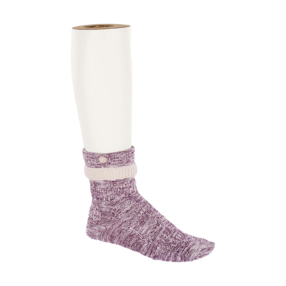 Birkenstock Women's Cotton Structure Socks LAVENDER