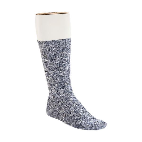 Birkenstock Men's Cotton Slub Socks BLUE/WHITE