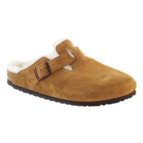Birkenstock Women's Boston Shearling Clogs Mink