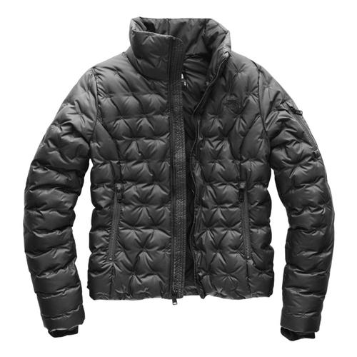 The North Face Women's Holladown Crop Jacket Asphalt_0c5
