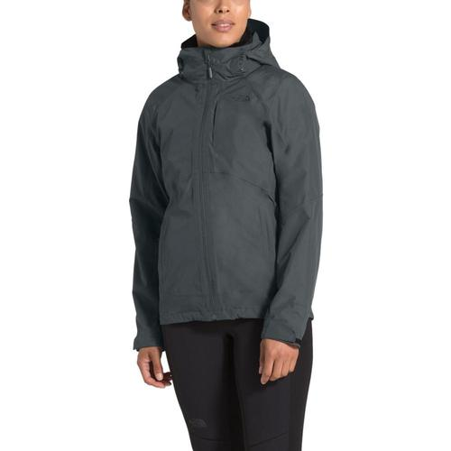 The North Face Women's Osito Triclimate Jacket Asphalt_03b