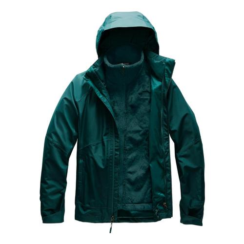 The North Face Women's Osito Triclimate Jacket Green_g32