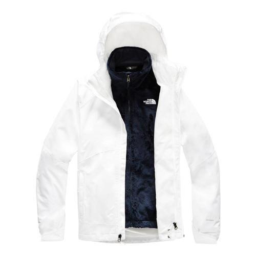 The North Face Women's Osito Triclimate Jacket White_lg5