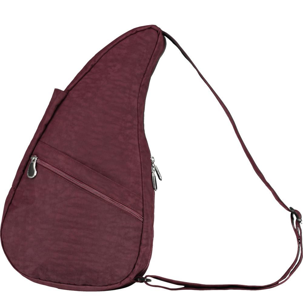 AmeriBag Healthy Back Bag Distressed Nylon Shoulder Bag - Small FIG
