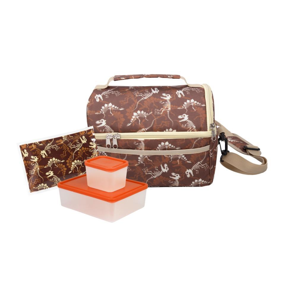 Bentology Dual Compartment Lunch Kit DINO
