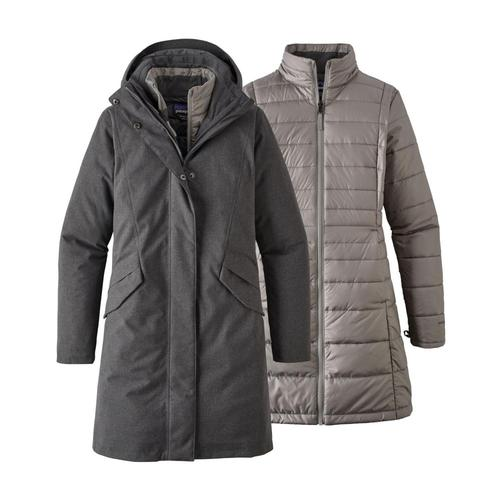 Patagonia Women's Vosque 3-in-1 Parka Grey_fge