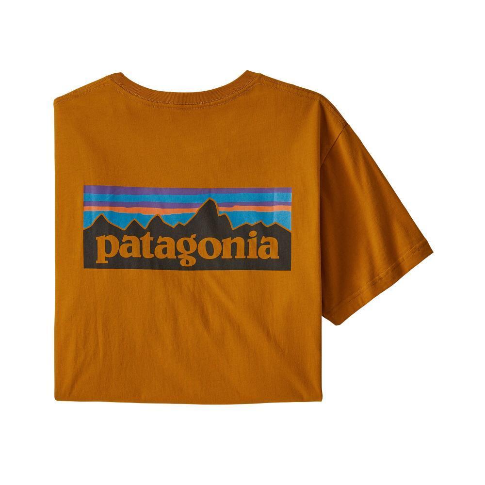 Patagonia Men's P-6 Logo Organic Cotton T-Shirt HAGO
