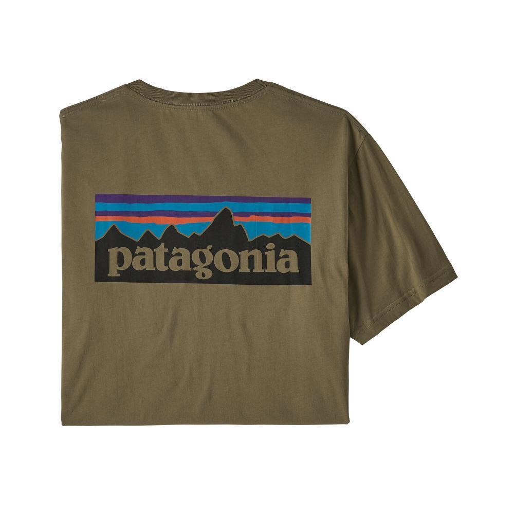 Patagonia Men's P-6 Logo Organic Cotton T-Shirt SKA