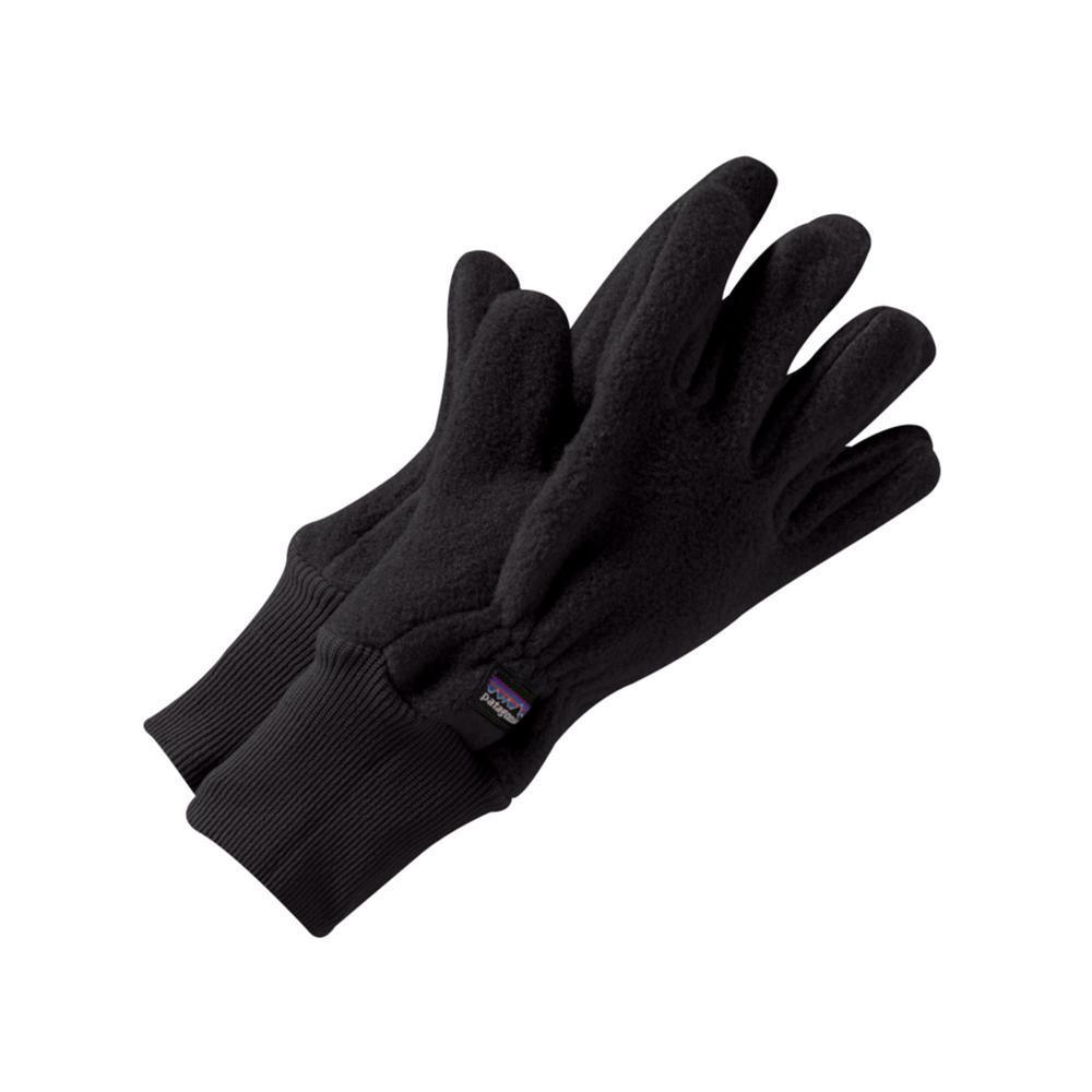 Patagonia Kids Synchilla Gloves BLACK_BLK