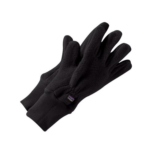 Patagonia Kids Synchilla Gloves Black_blk