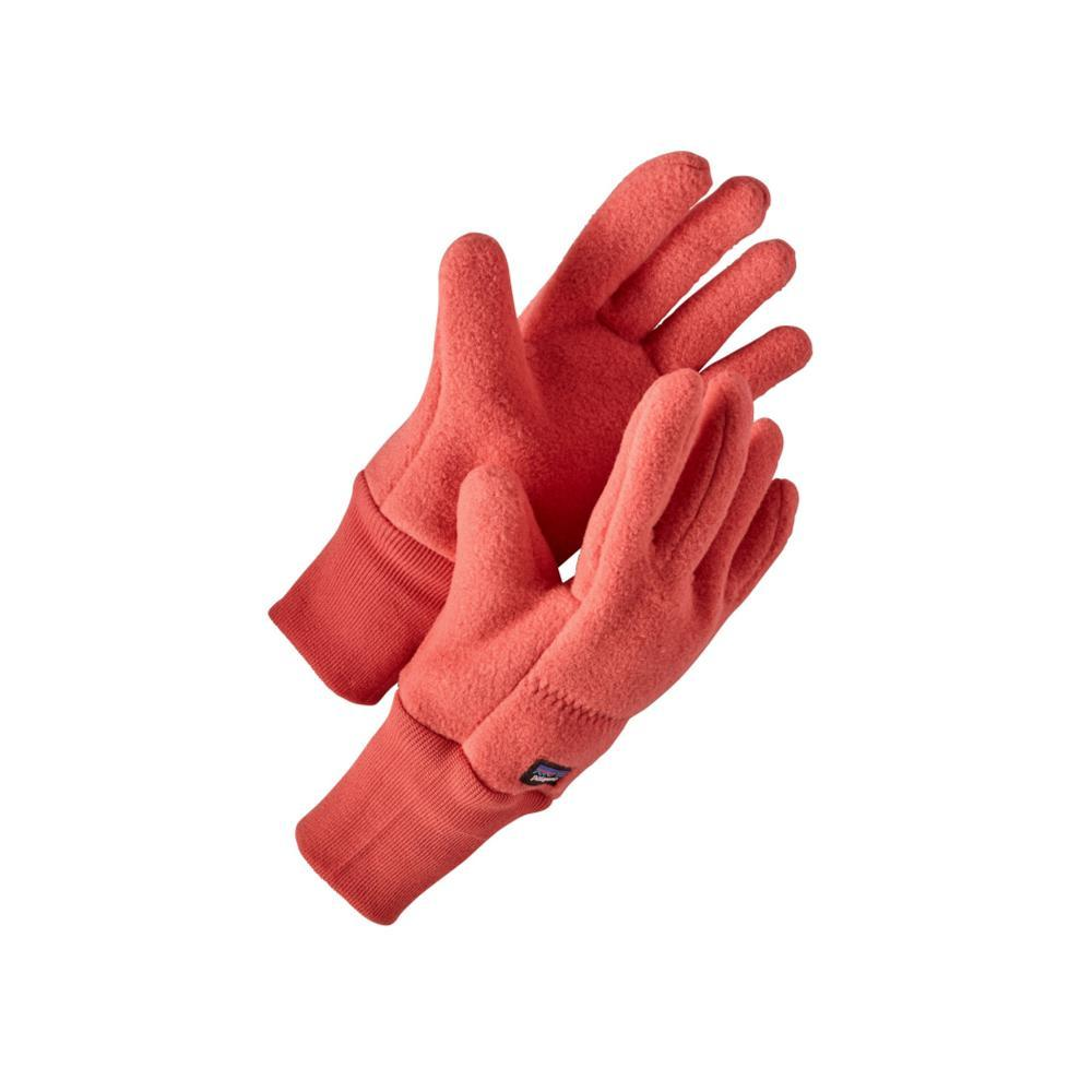 Patagonia Kids Synchilla Gloves CORAL_SPCL