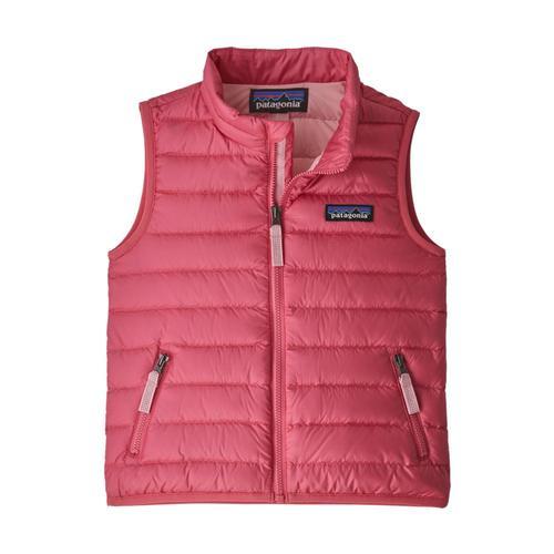 Patagonia Baby Down Sweater Vest Pink_rapi