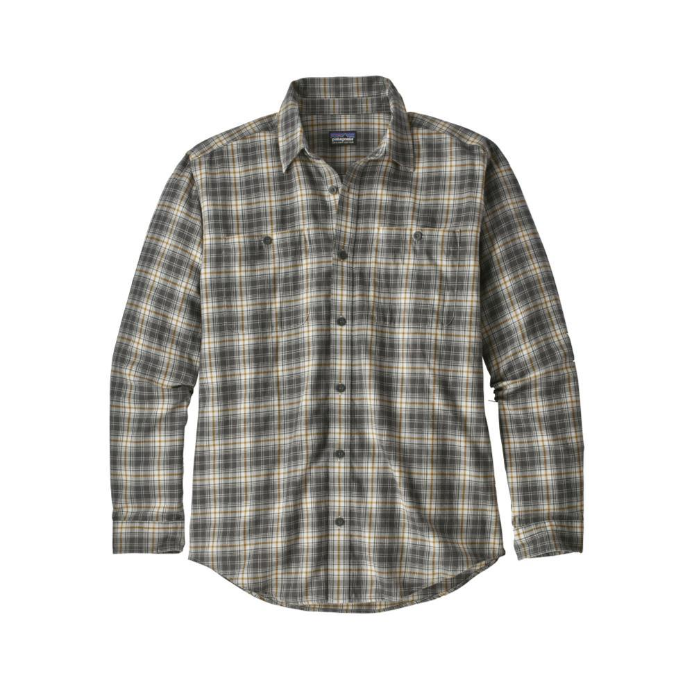 Patagonia Men's Long-Sleeved Organic Pima Cotton Shirt PATG_GREY