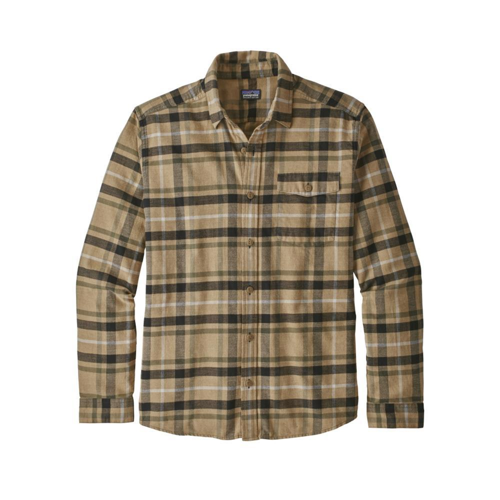 Patagonia Men's Lightweight Fjord Flannel Shirt  TPMO_KHAKI
