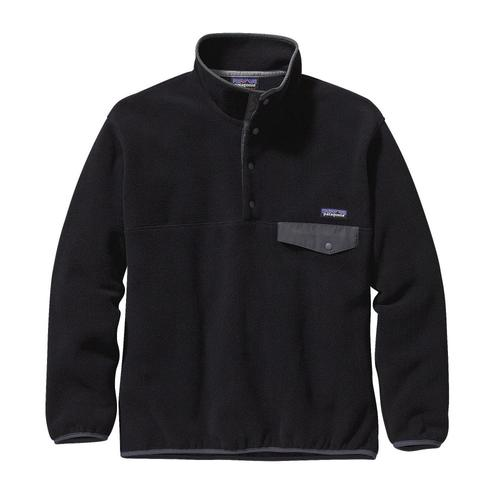 Patagonia Men's Synchilla Snap-T Fleece Pullover Blkgry_bfo