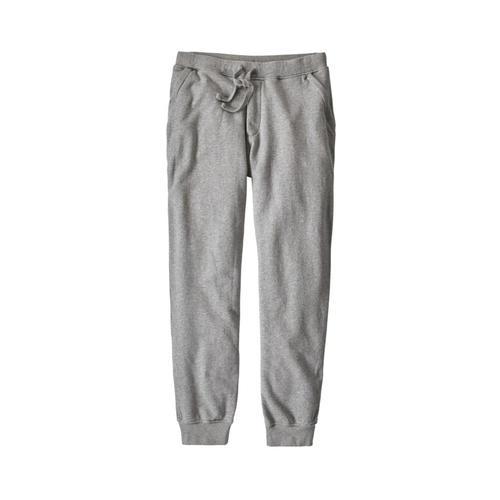 Patagonia Men's Mahnya Fleece Pants Fea_grey