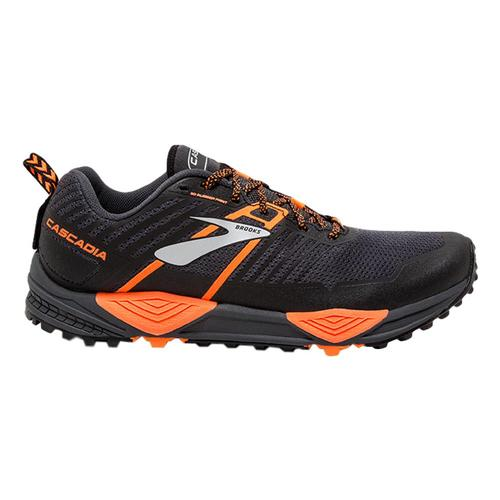 Brooks Men's Cascadia 13 Trail Running Shoes Gry.Blk.Org_026