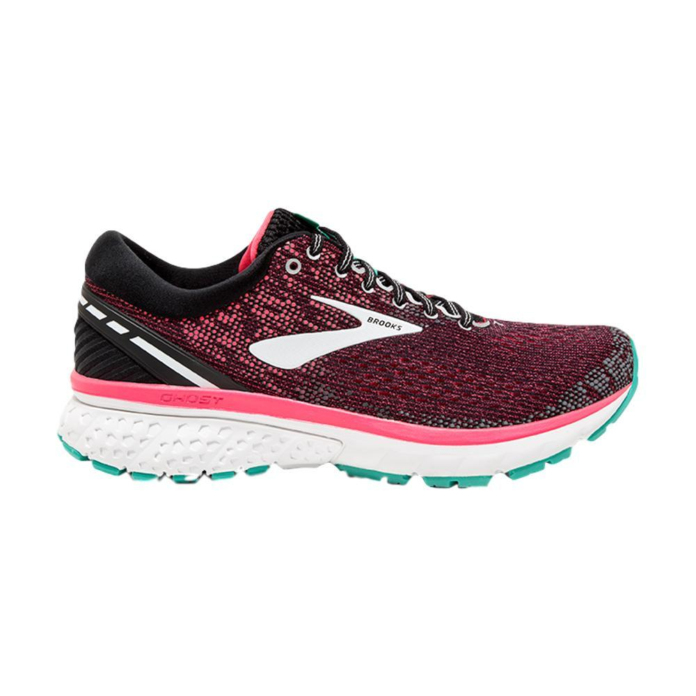 Brooks Women's Ghost 11 Road Running Shoes BLACK/PINK