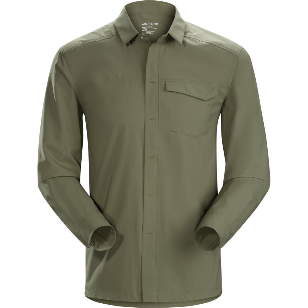 Arc'teryx Men's Skyline Long Sleeve Shirt WILDWOOD