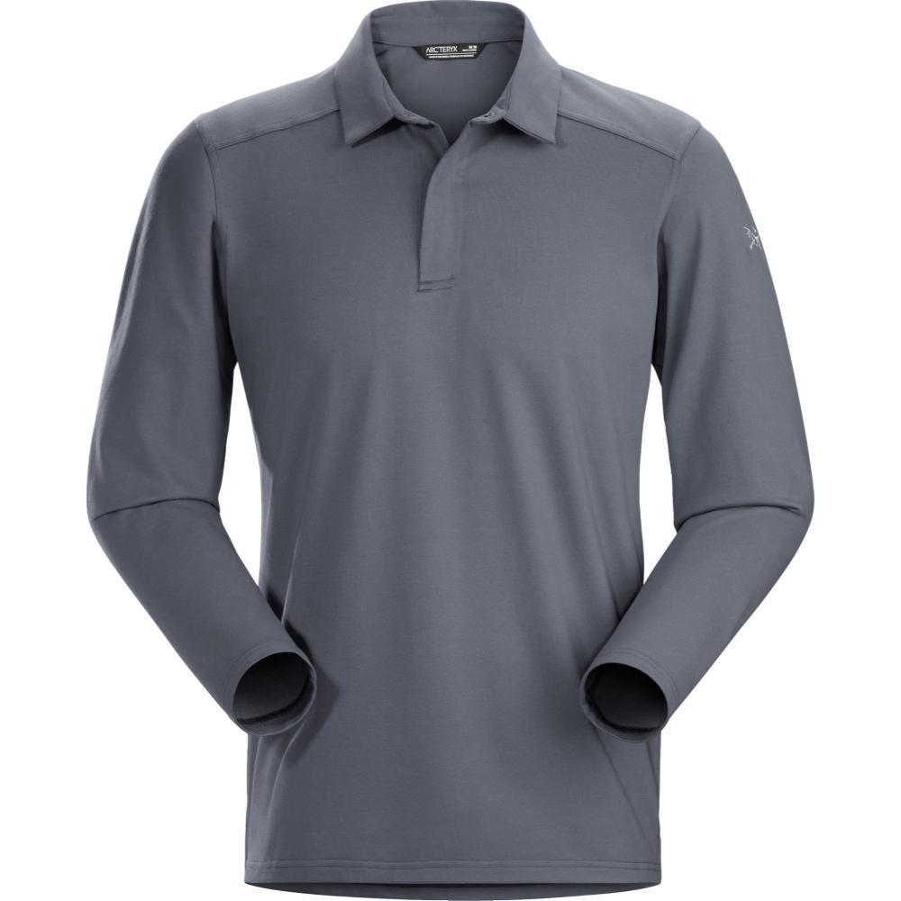 Arc'teryx Men's Captive Polo Shirt LS CINDER