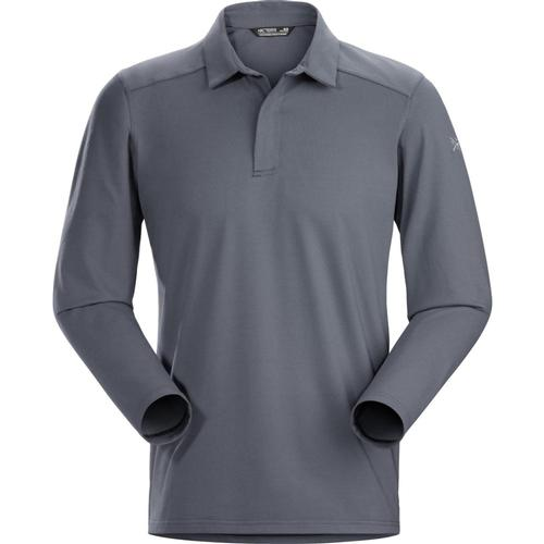 Arc'teryx Men's Captive Polo Shirt LS Cinder