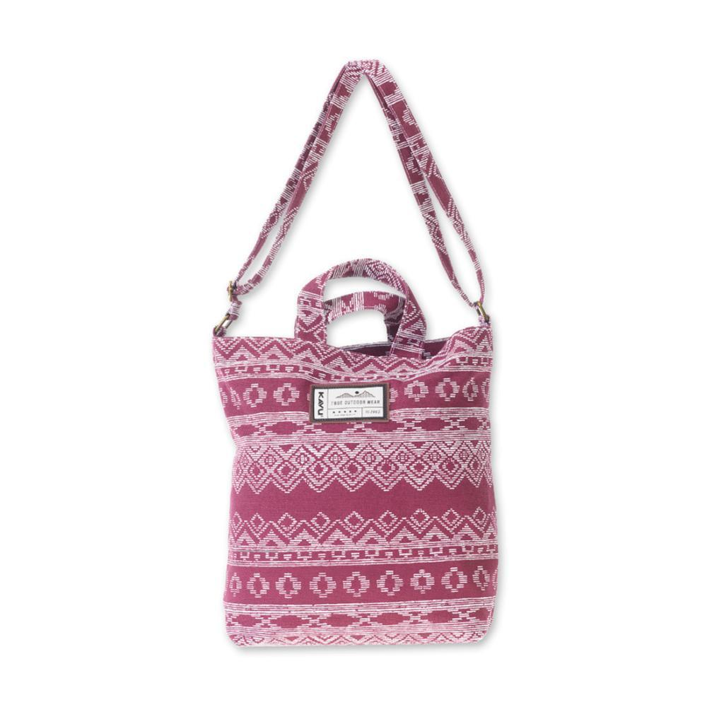 KAVU Washougal Cross Body Tote Bag KNITSTER