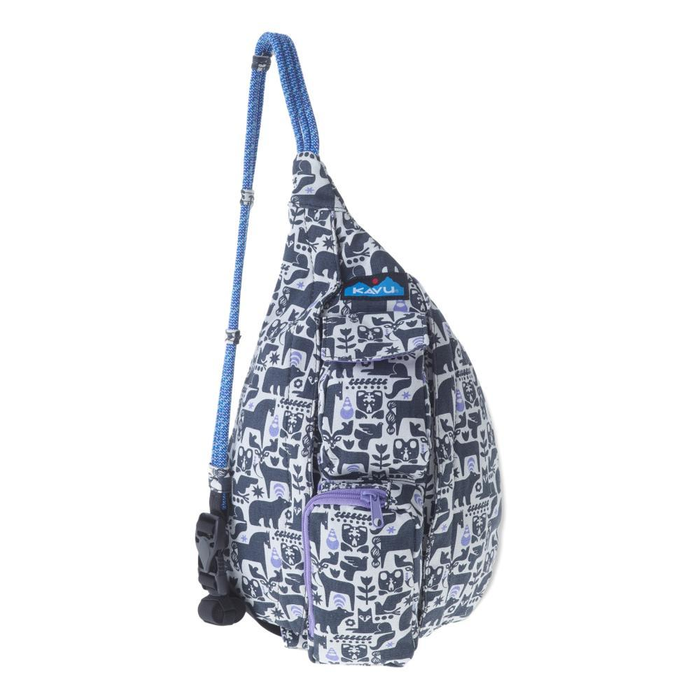 KAVU Mini Rope Bag CHARC_1017