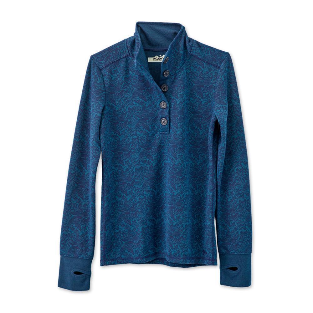 KAVU Women's Lopez Long Sleeve Shirt NIGHTPINE