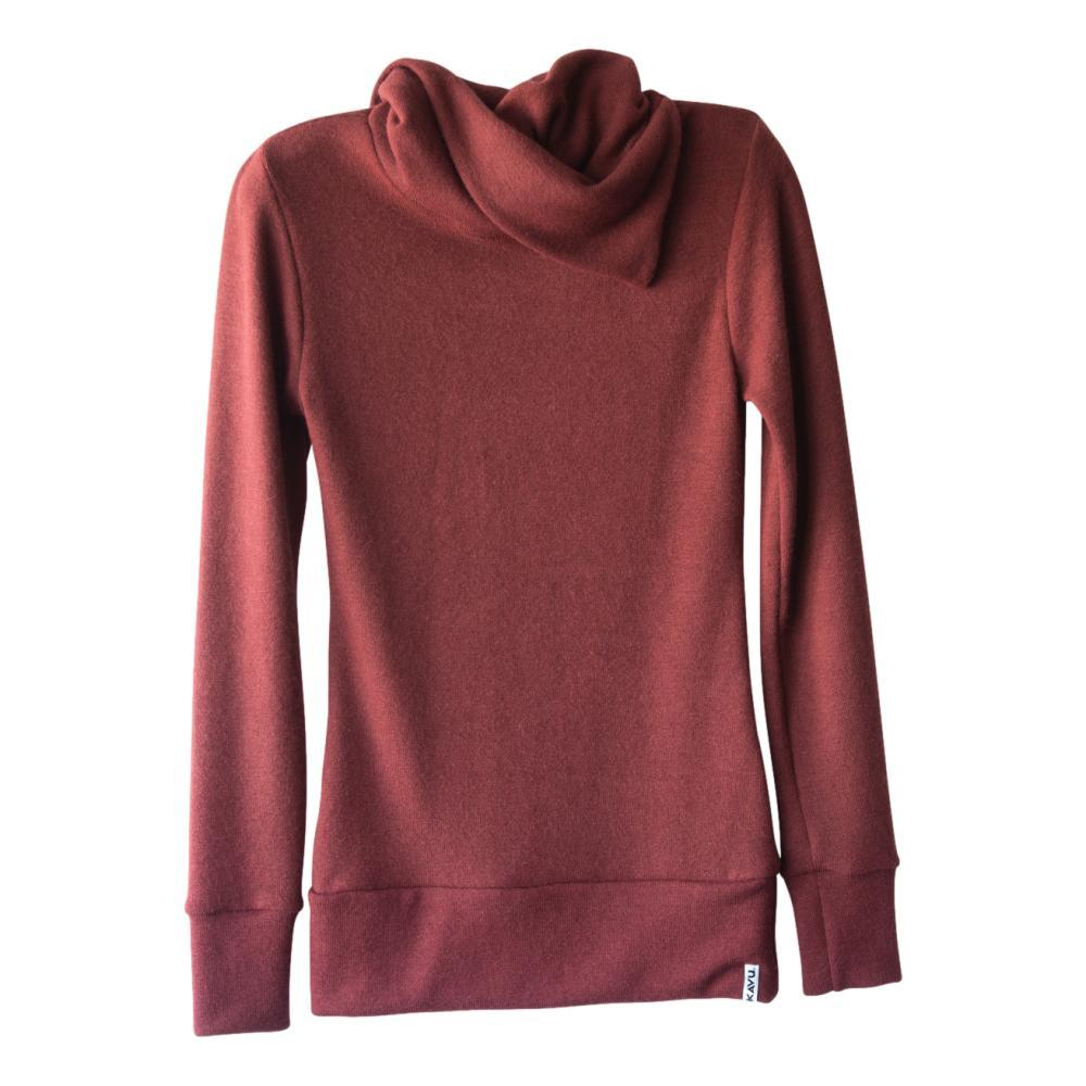 KAVU Women's Sweetie Sweater RUBY_657