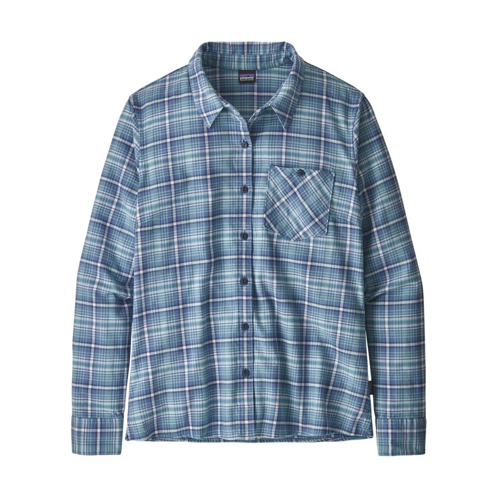 Patagonia Women's Heywood Flannel Shirt BLUE_SPWB