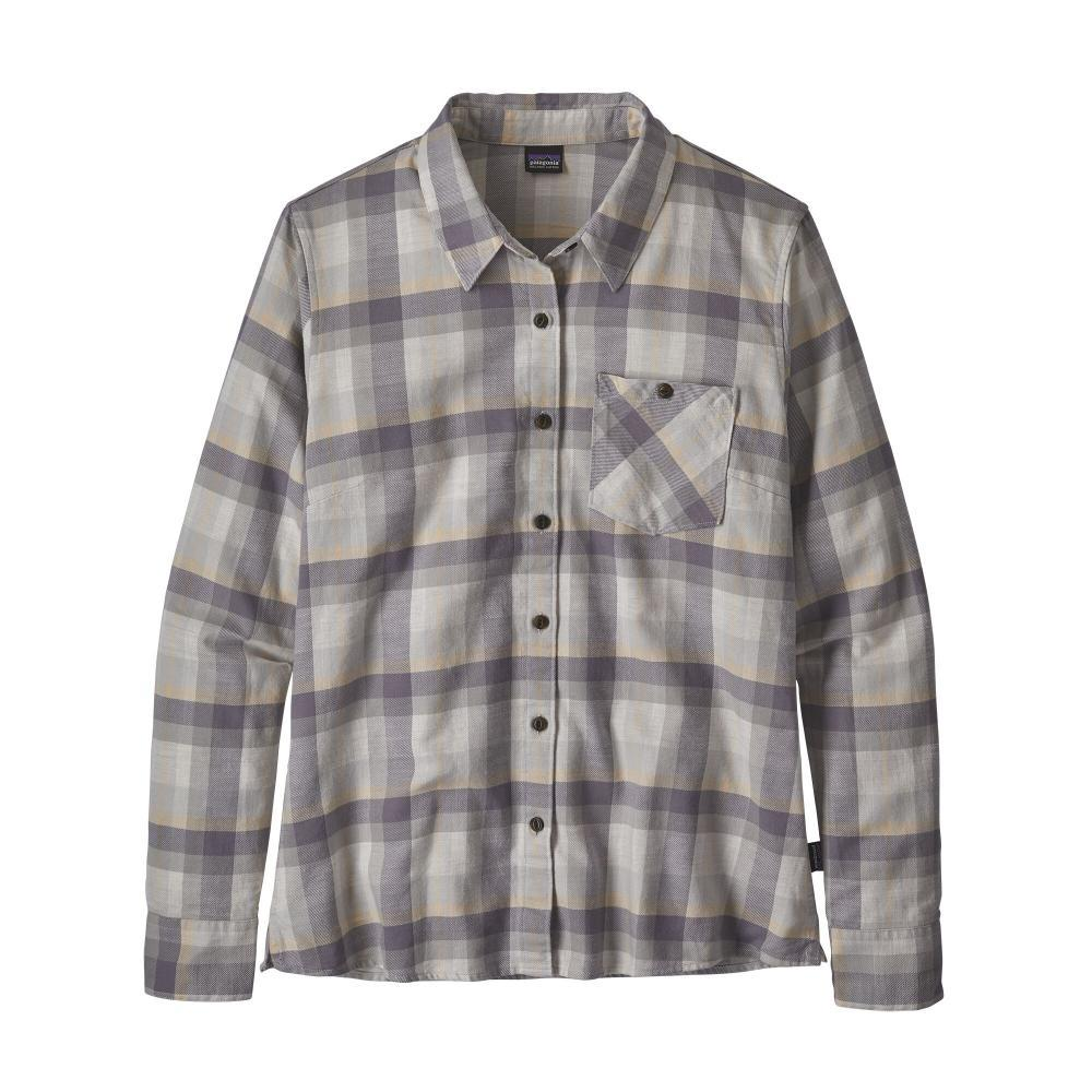 Patagonia Women's Heywood Flannel Shirt GREY_BTDG