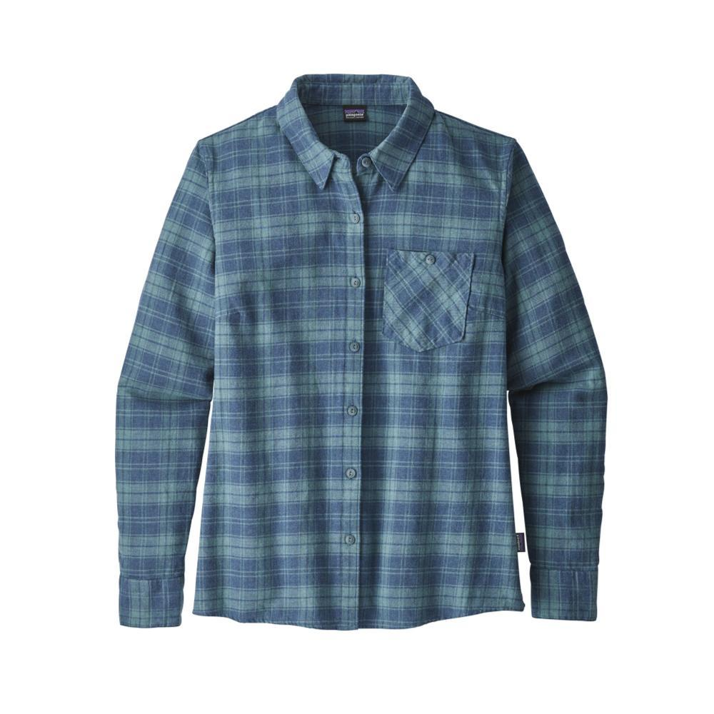 Patagonia Women's Heywood Flannel Shirt HRSB_BLUE