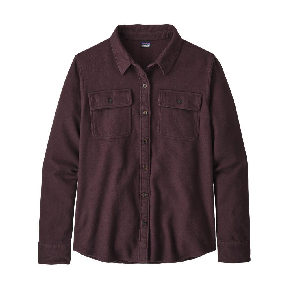 Patagonia Women's Long-Sleeved Fjord Flannel Shirt PLUM_JTDP