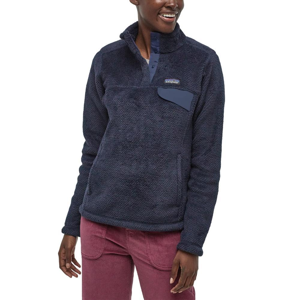 Patagonia Women's Re-Tool Snap-T Pullover NAVY_NEDX