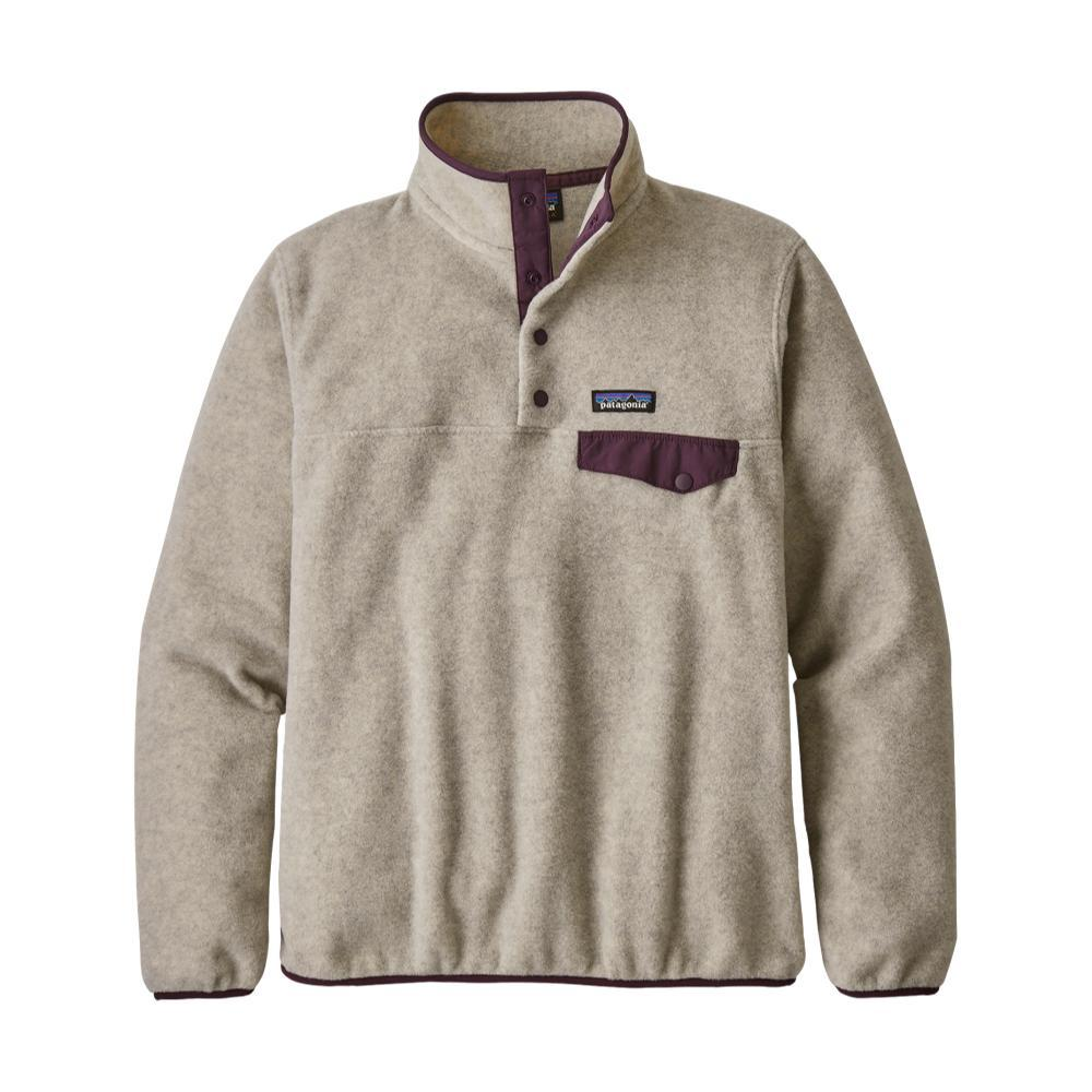 Patagonia Women's Lightweight Synchilla Snap-T Fleece Pullover OATMEAL_OHDP
