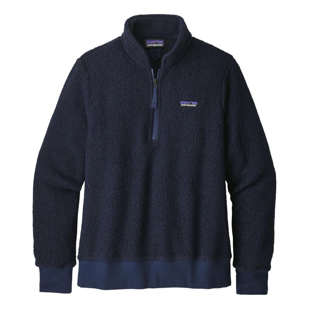 Patagonia Women's Woolyester Fleece Pullover BLUE_NVYB