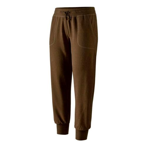 Patagonia Women's Ahyna Pants - 27in Inseam Brown_topb