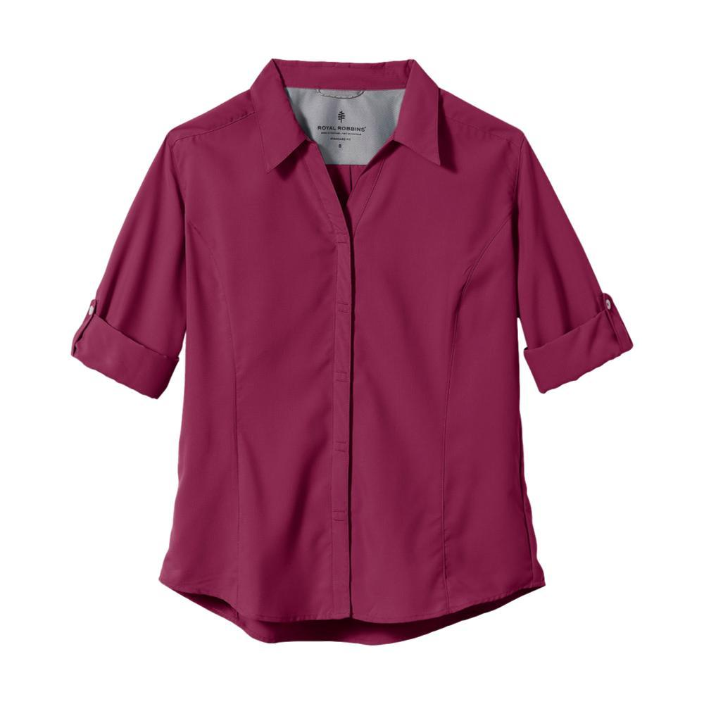 Royal Robbins Women's Expedition 3/4 Sleeve Shirt BYSNBERRY_623