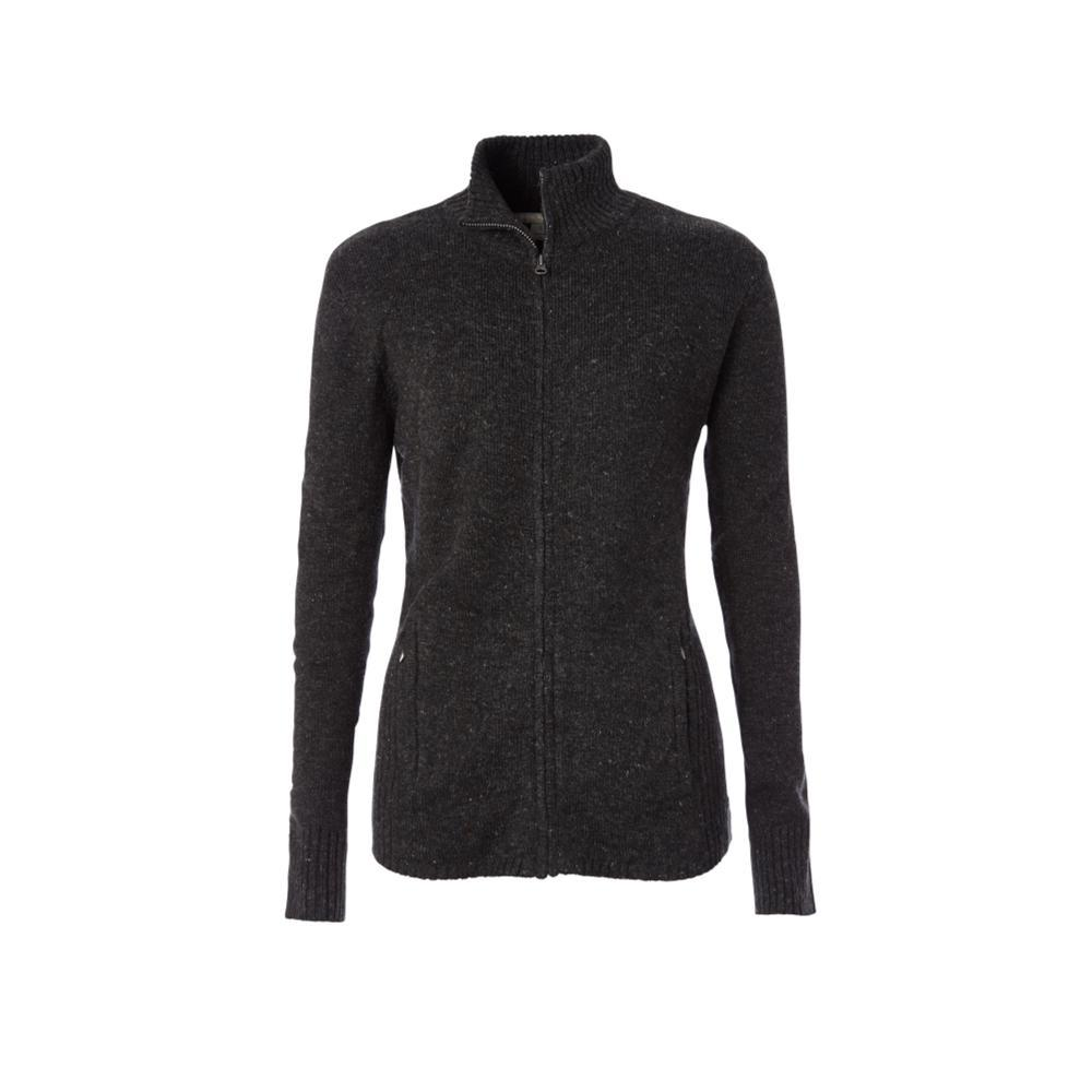 Royal Robbins Women's Highlands Cardi Sweater Jacket CHARCOAL