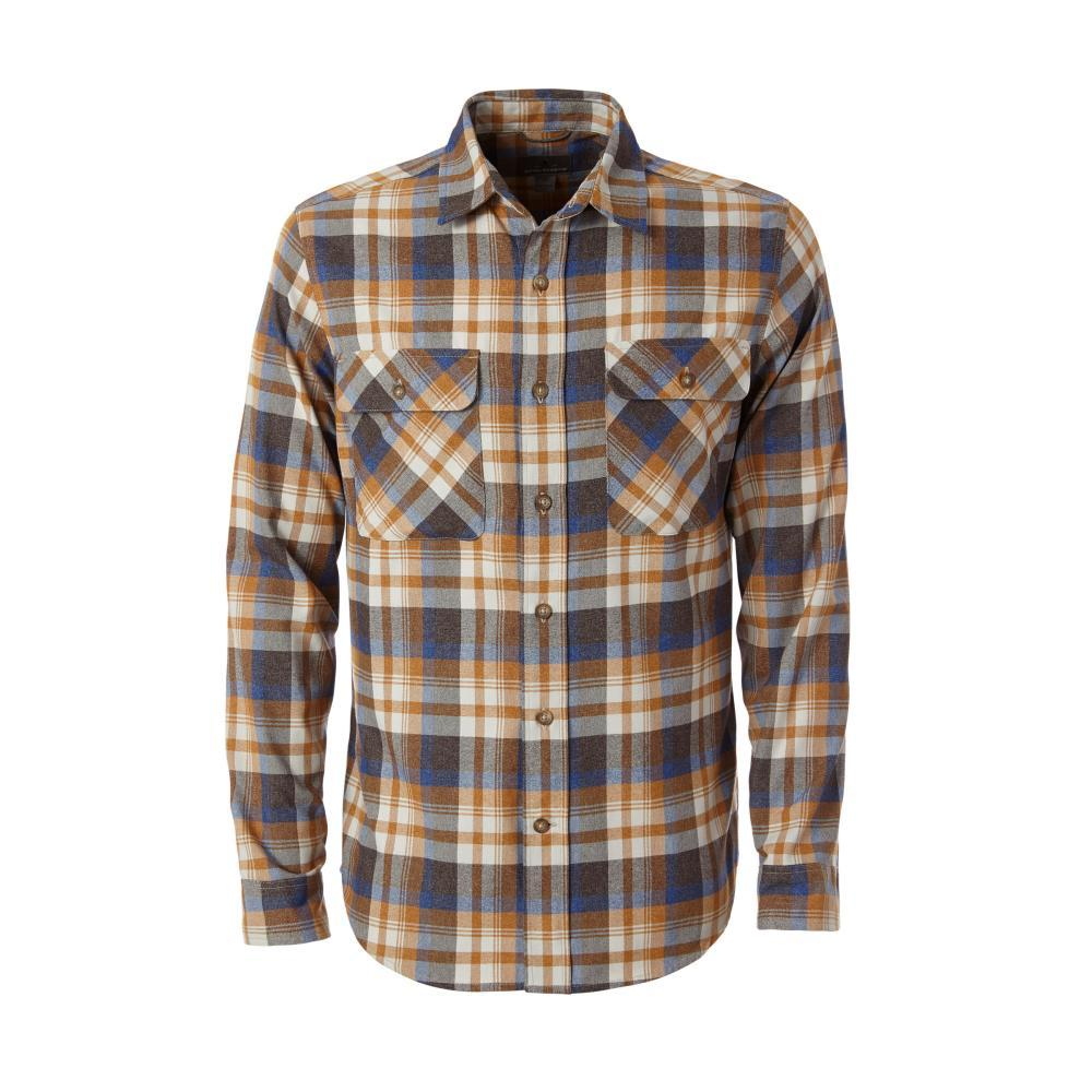 Royal Robbins Men's Performance Flannel Plaid Long Sleeve Shirt BLAZE