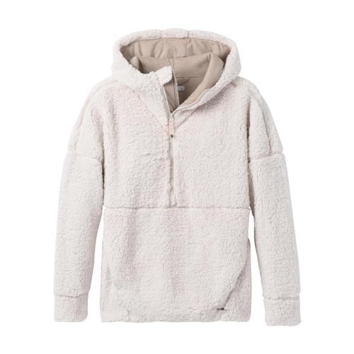 prAna Women's Permafrost Half Zip Pullover Hoodie Dreamdust