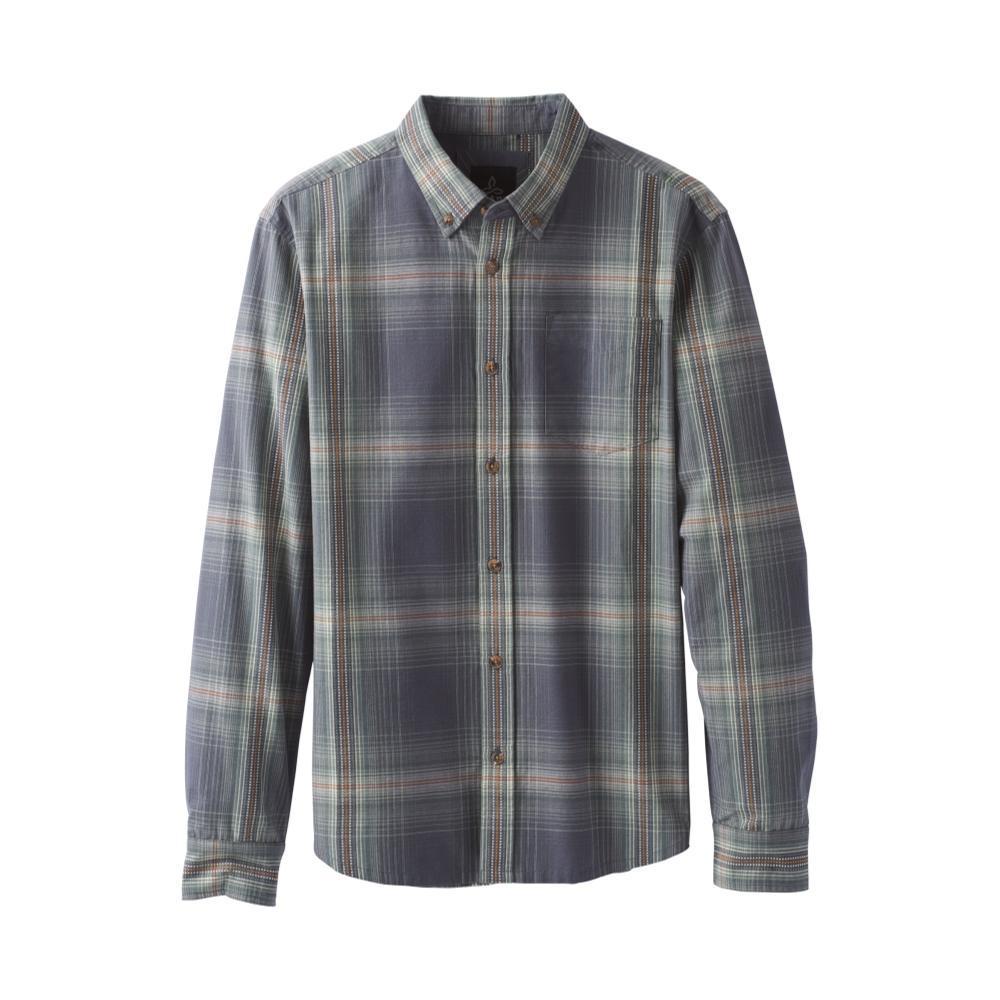 prAna Men's Broderick Long Sleeve Shirt COAL