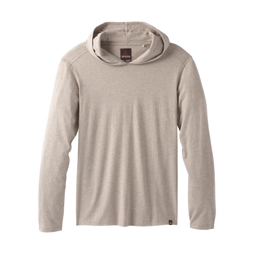 prAna Men's Long Sleeve Hooded T-Shirt DKKHAKIHTHR