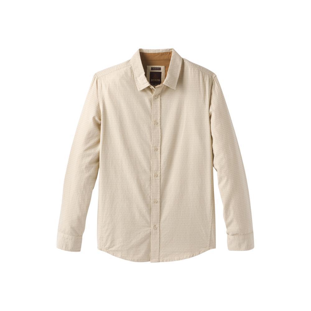 prAna Men's Graden Slim Long Sleeve Shirt STONE