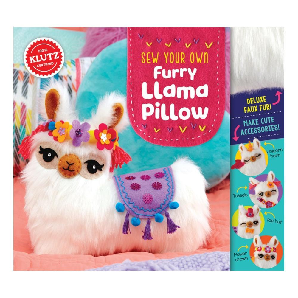 Klutz Sew Your Own Furry Llama Pillow Activity Kit