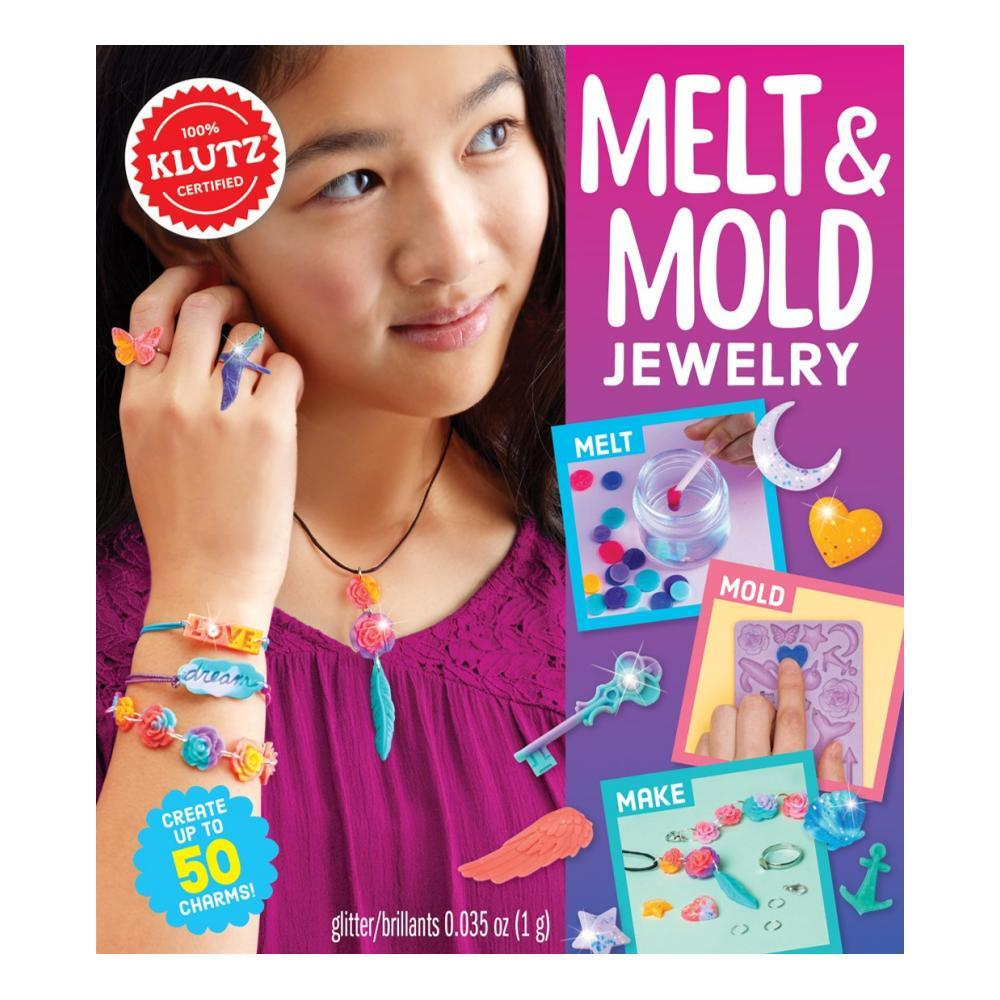 Klutz Melt And Mold Jewelry Activity Kit